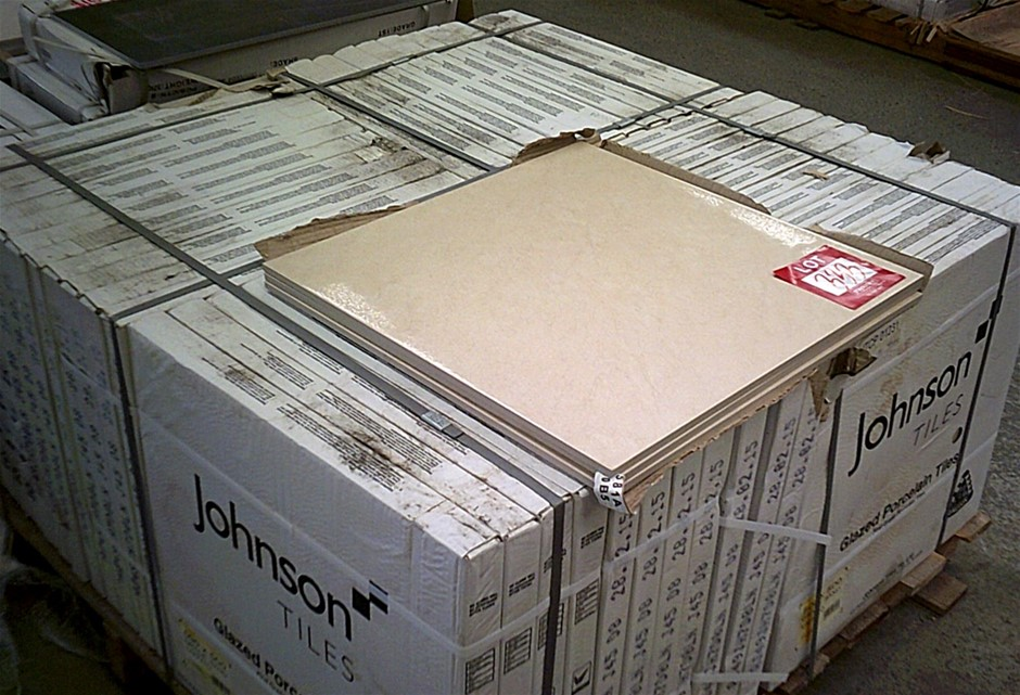2 boxes of Johnson Tiles.