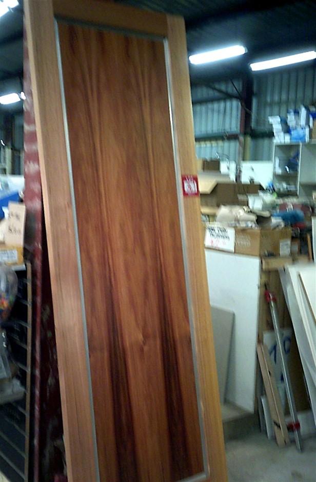 2340mm x 820mm x 40mm Timber Door.