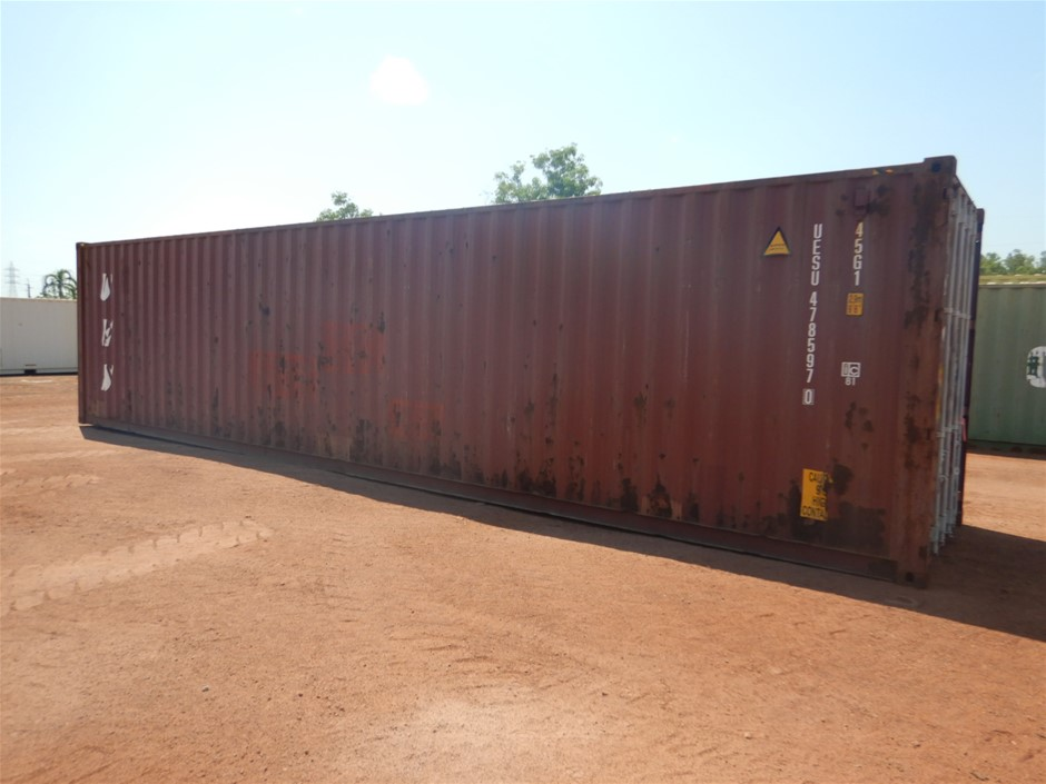 """40"""" Shipping Container and Contents"""