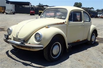 1971 Volkswagen Beetle Manual Coupe