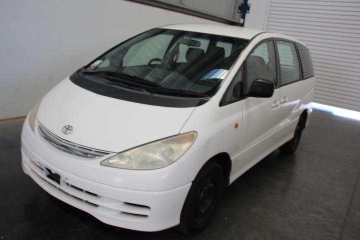 2002 Toyota Tarago GLI ACR30R Auto 7 Seats People Mover (WOVR+Inspected)