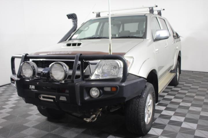 2010 Toyota Hilux SR5 (4x4) Turbo Diesel Dual Cab