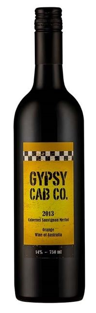 Gypsy Cab Co. Cabernet Merlot 2013 (6 x 750mL) Orange, NSW