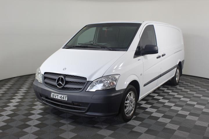 2011 Mercedes Benz Vito 116 CDI LWB Turbo Diesel Automatic Van