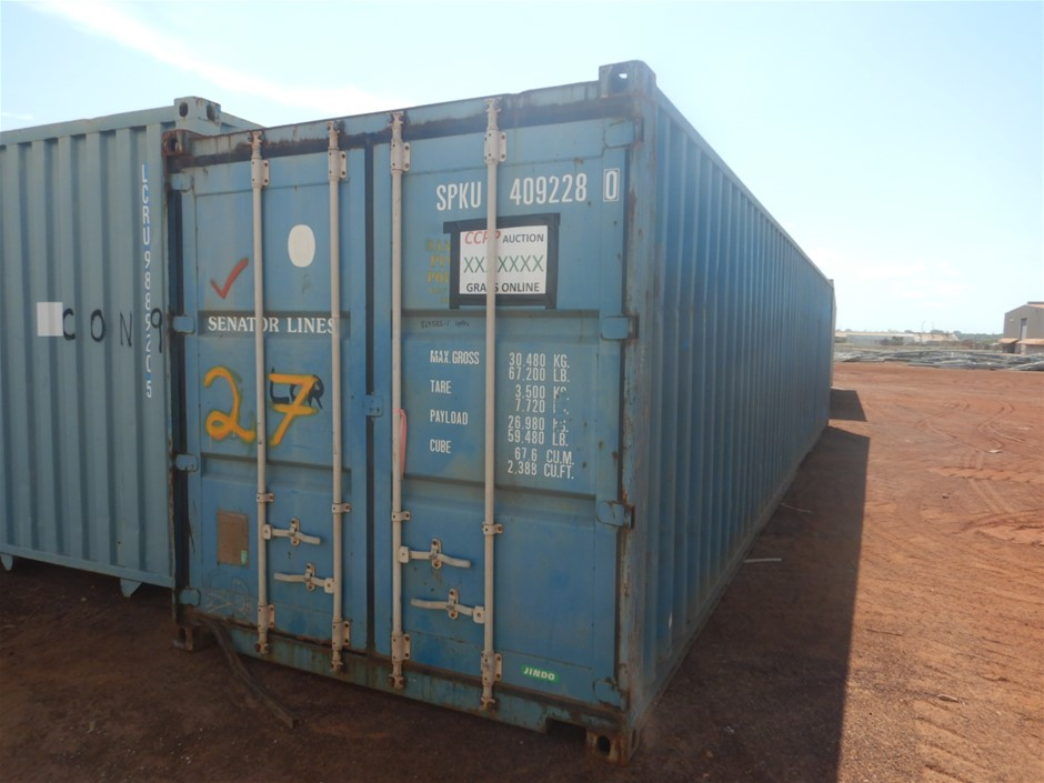 "40"" Shipping Container Standard"