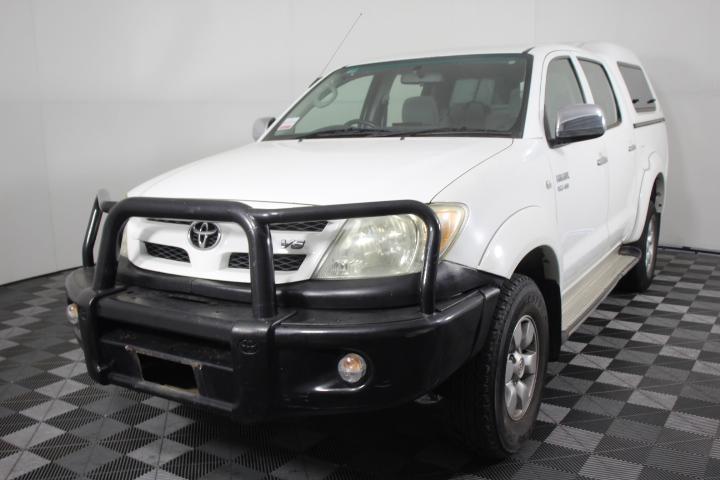 2005 Toyota Hilux SR5 (4x4) GGN25R Automatic Dual Cab
