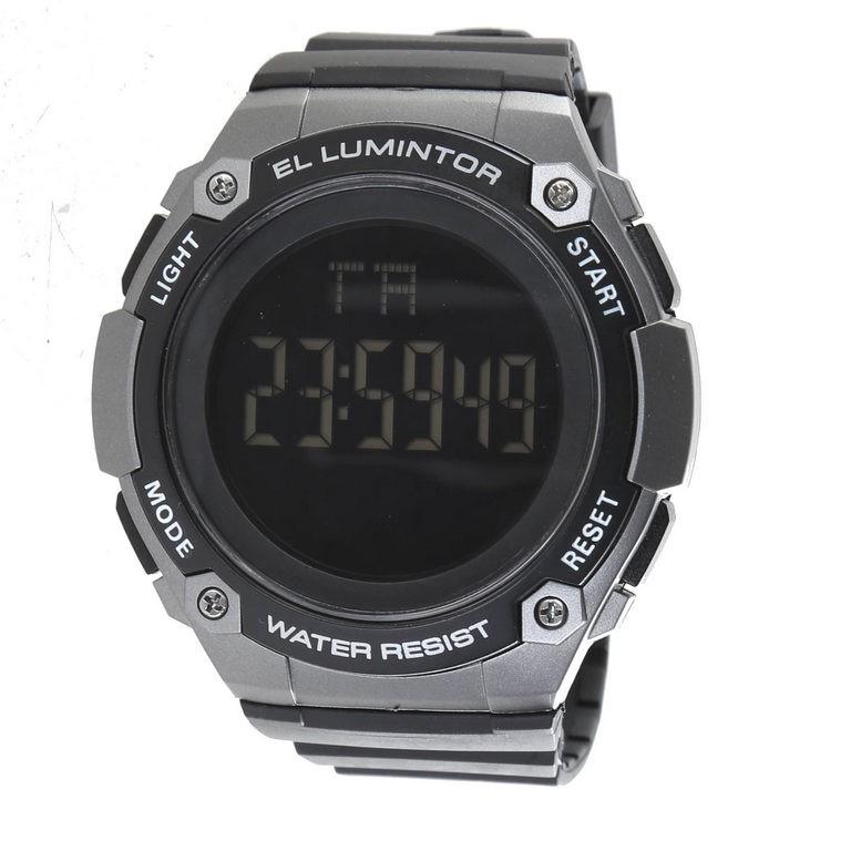 SKMEI Men`s Digital Multi-Function Wrist Watch with PU Band, Dial Width 54m