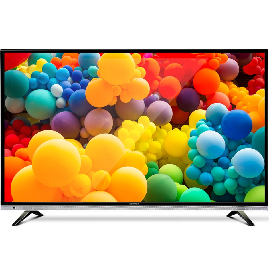 "Devanti 32"" Inch Smart LED TV HD LCD Slim Thin Screen Netflix Black 16:9"