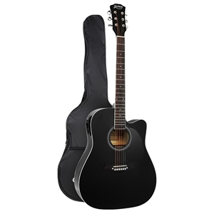 """Alpha 41"""" Inch Electric Acoustic Guitar"""