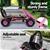 Rigo Kids Pedal Powered Go Kart - Pink