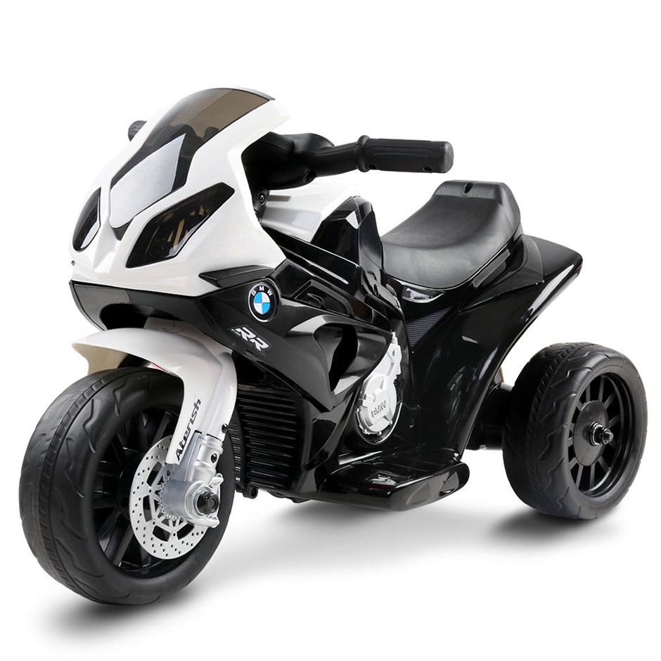 Rigo Kids Ride On BMW Motorbike - Black