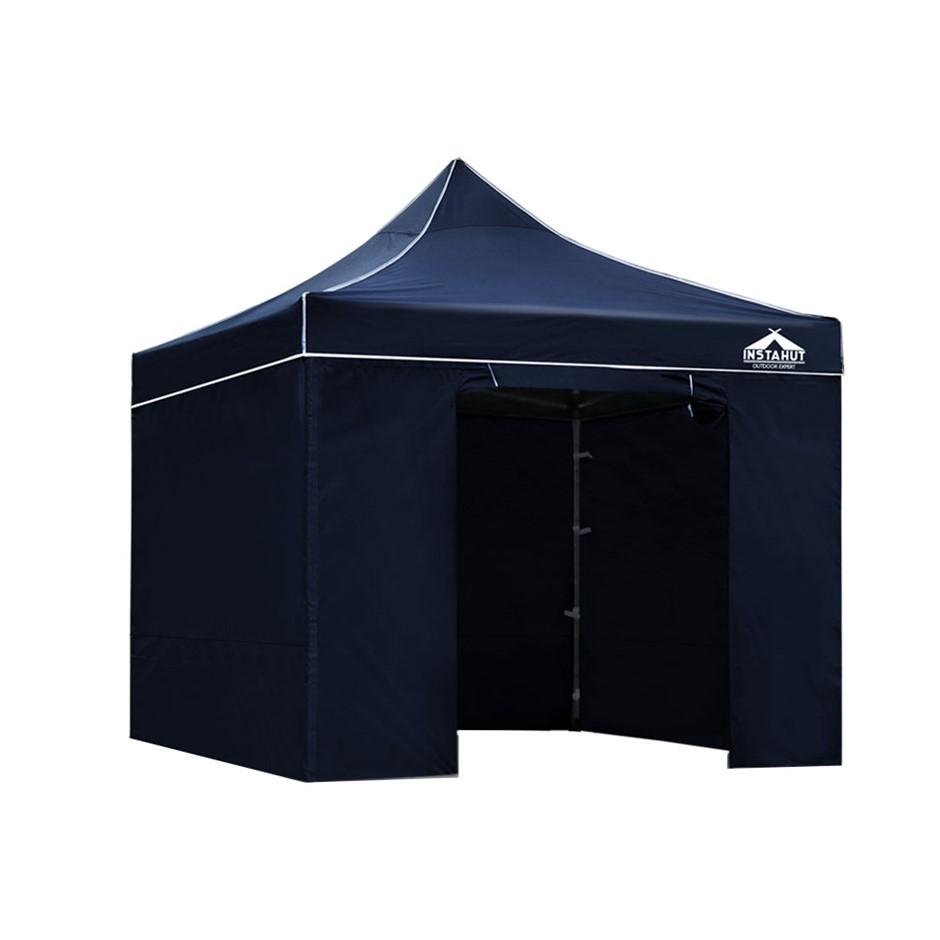 Instahut Aluminium Pop Up Gazebo Outdoor Folding Marquee Tent Canopy Party