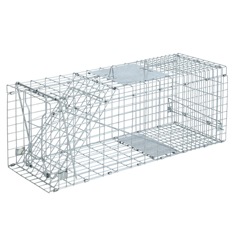Extra Large Humane Animal Trap Cage Possum Fox Koala Rabbit Bird Cat Live