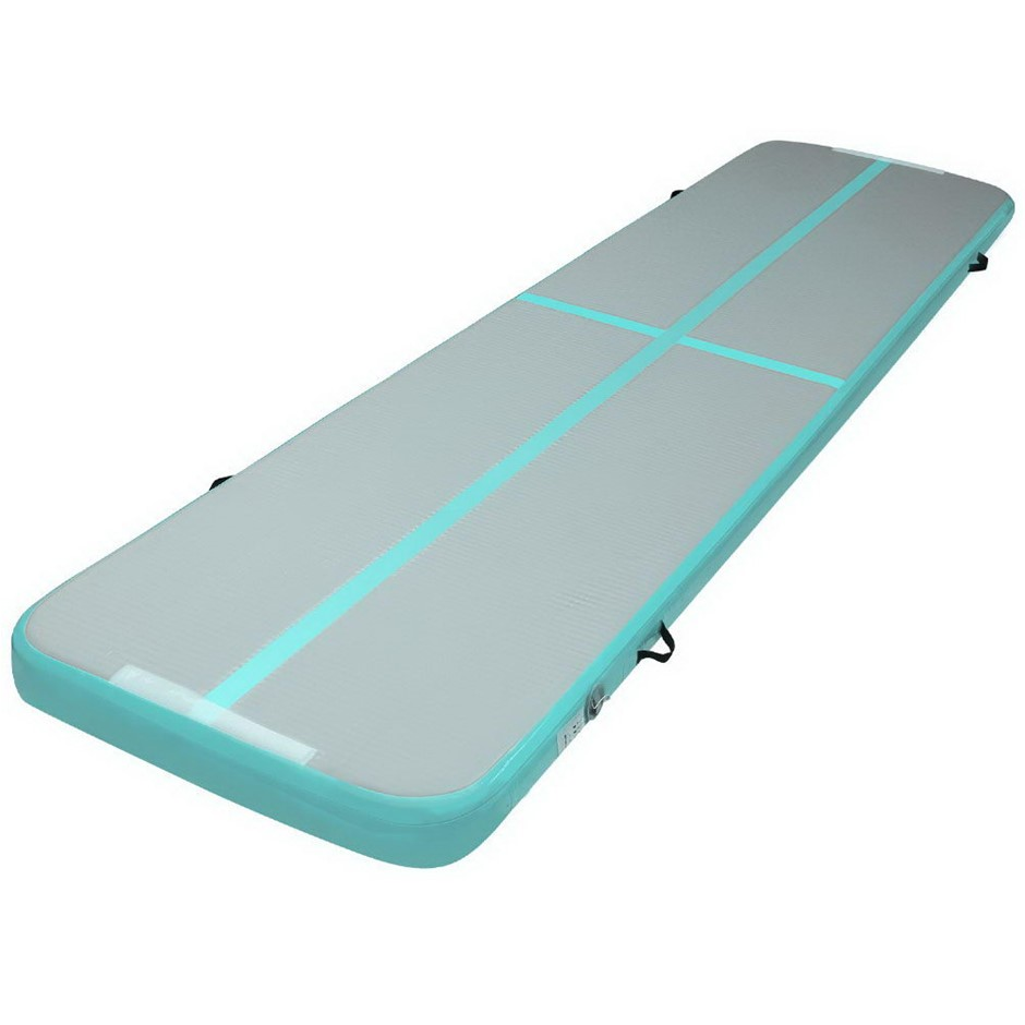 Everfit 4X1M Airtrack Inflatable Air Track Tumbling Mat Home Gymnastics