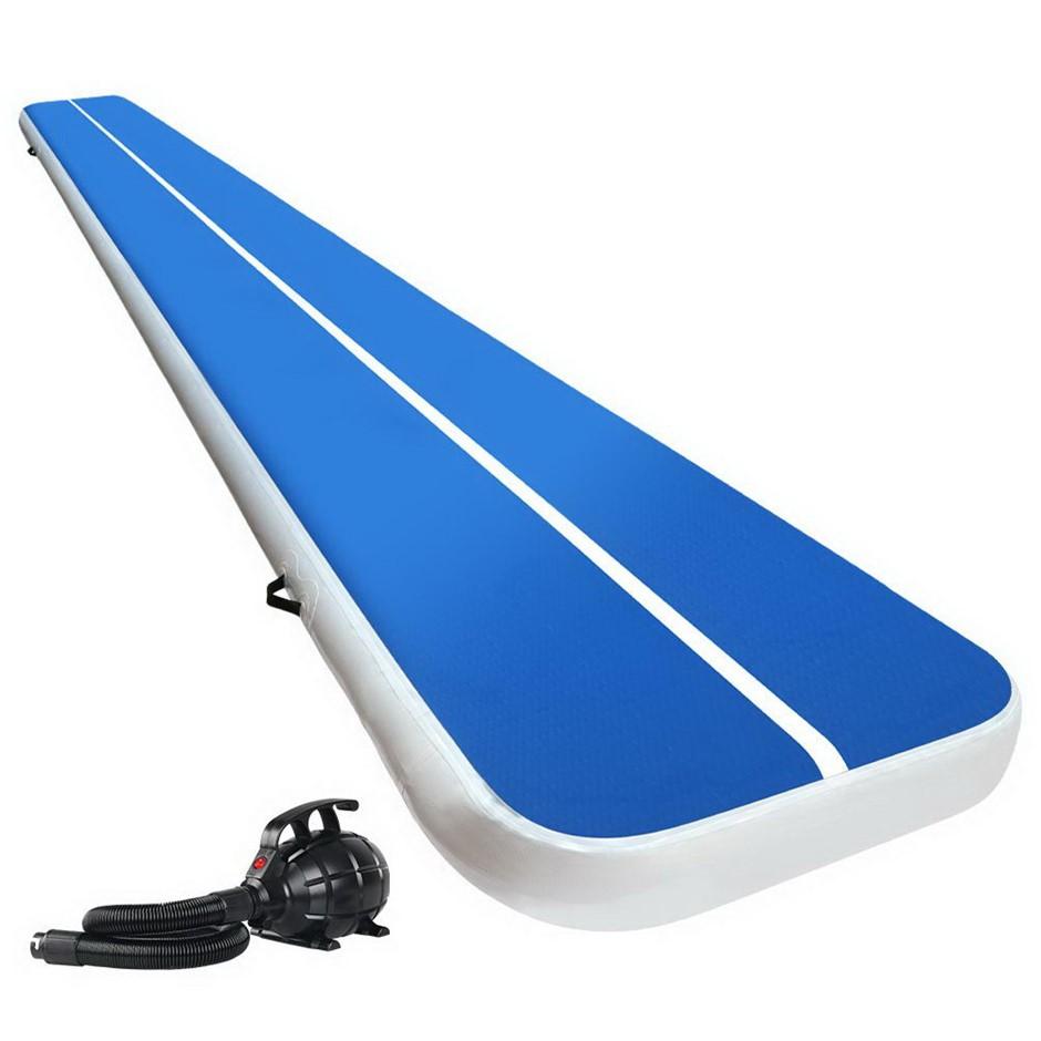 Everfit GoFun 6MX1M Inflatable Air Track Mat Tumbling Floor Home Gymnastics