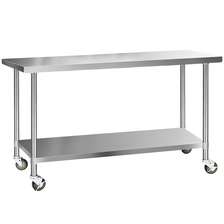 Cefito 1829x610mm Commercial 304 Stainless Steel Bench