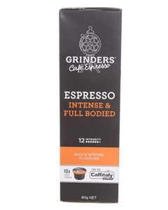8 Packets x GRINDERS ROASTERS Espresso I