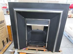 Agnews WT No. 1 Cast Iron Fireplace Surr