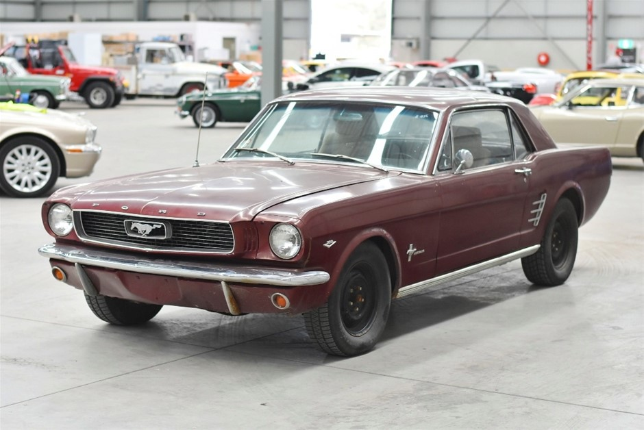1966 Ford Mustang V8 Coupe Automatic - C Code