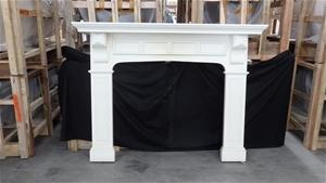 Timber (MDF) Laminate Fireplace