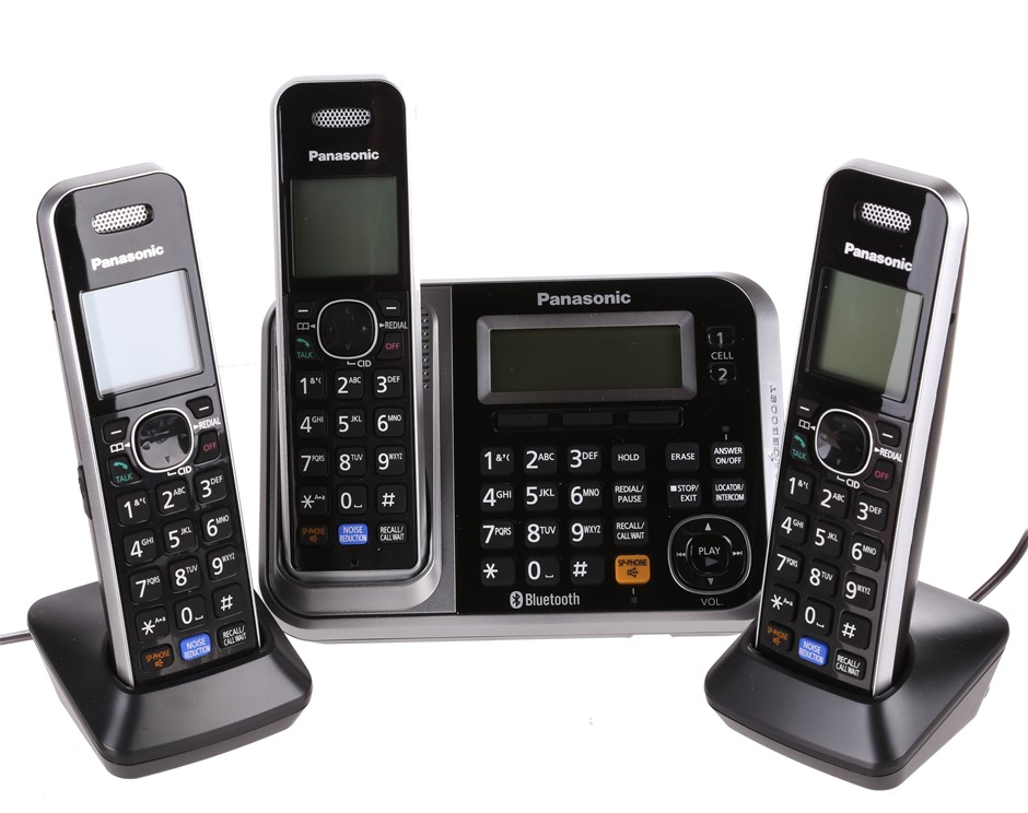 PANASONIC KX-TG7893 Digital Cordless Telephone with Link- to-Cell System. (