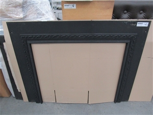 Agnews No. 7 Cast Iron Fireplace Surroun