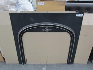 Agnews 85 Arc Cast Iron Fireplace Surrou