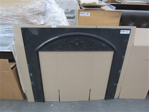 Agnews No. 8 Cast Iron Fireplace Surroun