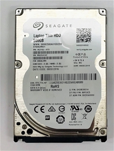 Seagate 2.5`` 500GB Laptop thin HDD Part