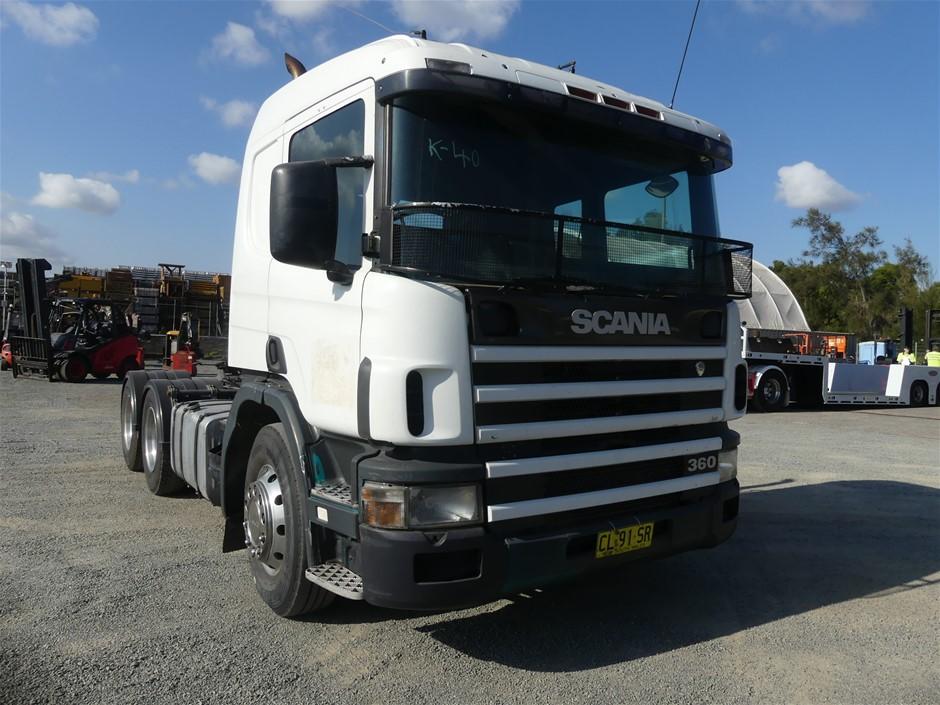 1999 Scania 124 6 x 4 Prime Mover Truck