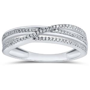 9ct White Gold, 0.16ct Diamond Ring