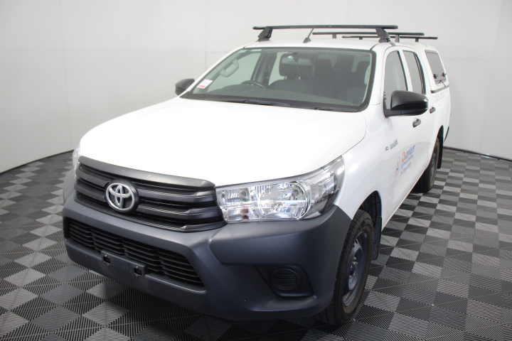 2016 Toyota Hilux Workmate TGN121R Automatic Dual Cab
