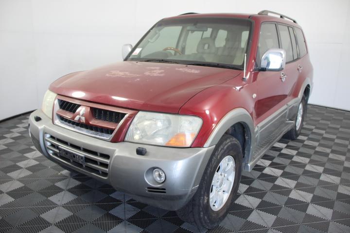 2002 Mitsubishi Pajero Exceed (4x4) NP Automatic 7 Seat Wagon
