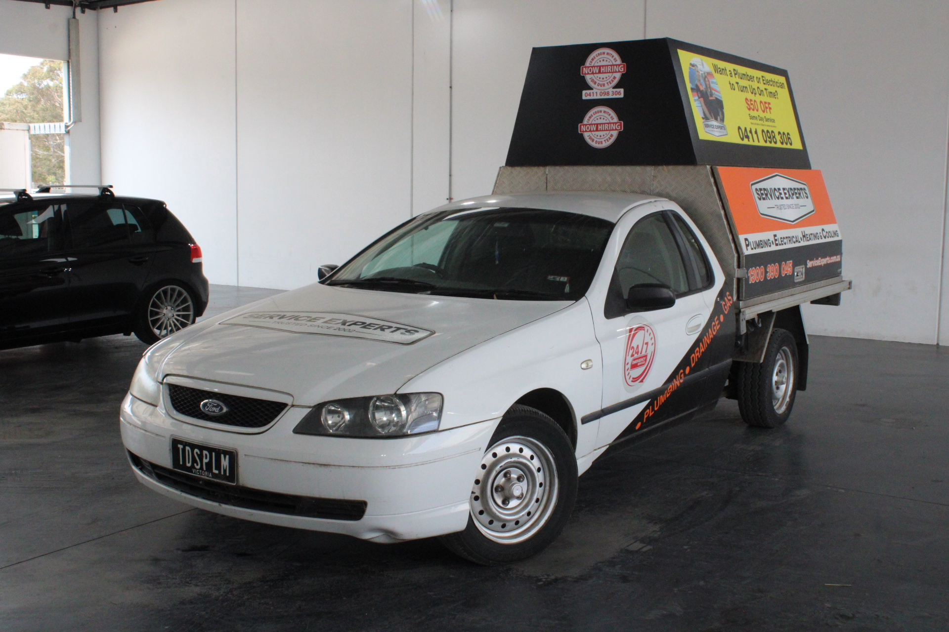 2003 Ford Falcon XL BA Automatic Cab Chassis (WOVR-INSPECTED)