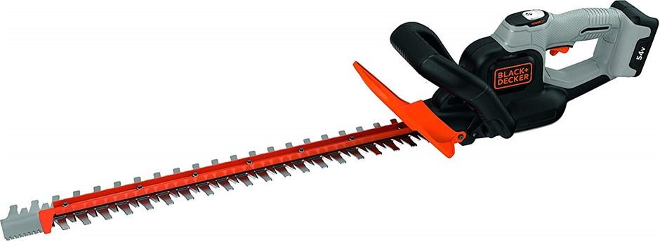 BLACK & DECKER 54V Dual Volt Hedge Trimmer 60cm Blade Complete With Battery