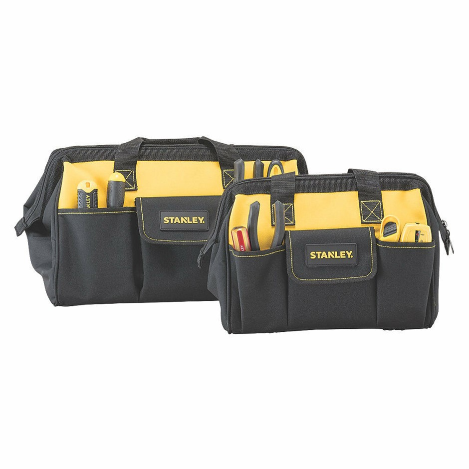 STANLEY 3-IN-1 Double Pack Tool Organiser 43cm x 30cm x 25cm Buyers Note -