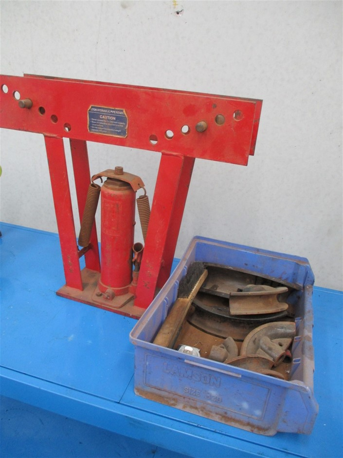 1x 12 Ton Hydraulic Pipe Bender