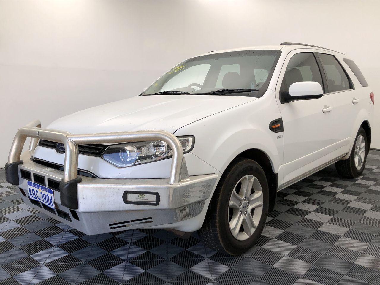 2013 Ford Territory TX (4x4) SZ Turbo Diesel Automatic Wagon