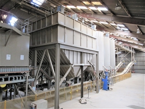 Sand Drying and Bagging Line