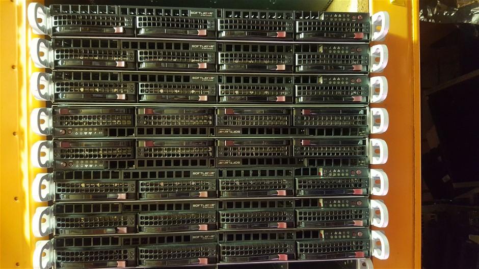 Supermicro 1U-E5-V2CPU SERVER, 2x E5-2680, 144GB, 12 TB