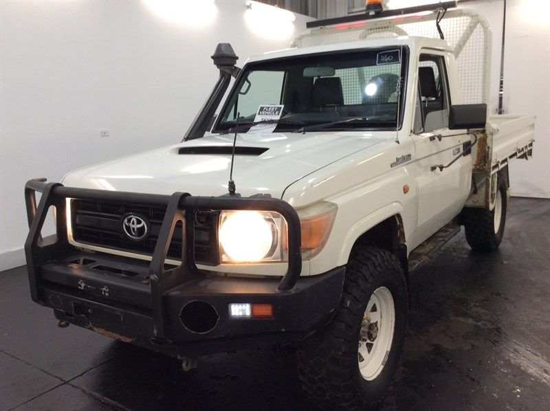 2012 Toyota Landcruiser Workmate 4WD Manual Cab Chassis 116,902km
