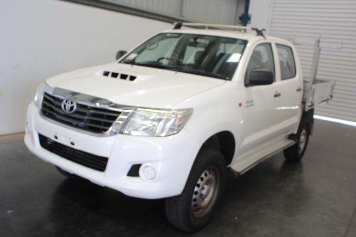 2013 MY14 Toyota Hilux 4WD 3.0T/D KUN26R 151247 Km's (Service History)