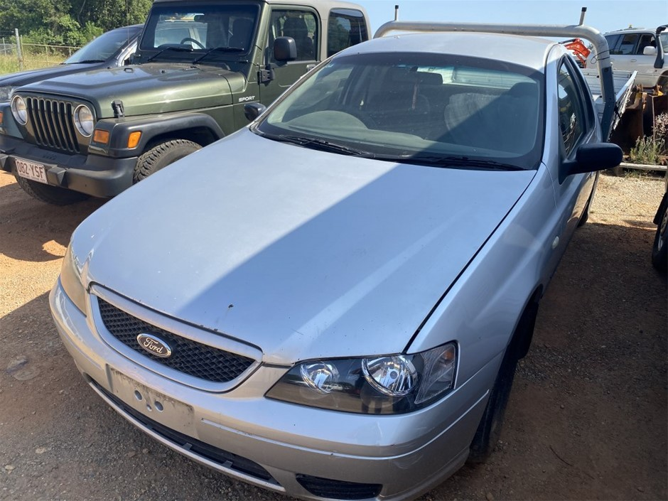 2006 Ford Falcon BF XL Automatic Ute (WOVR - Cleared Repairable)