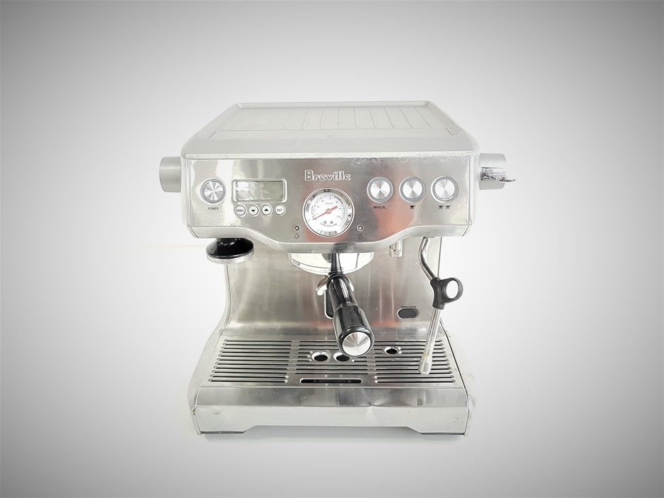 Breville BES920- The Dual Boiler Coffee Machine