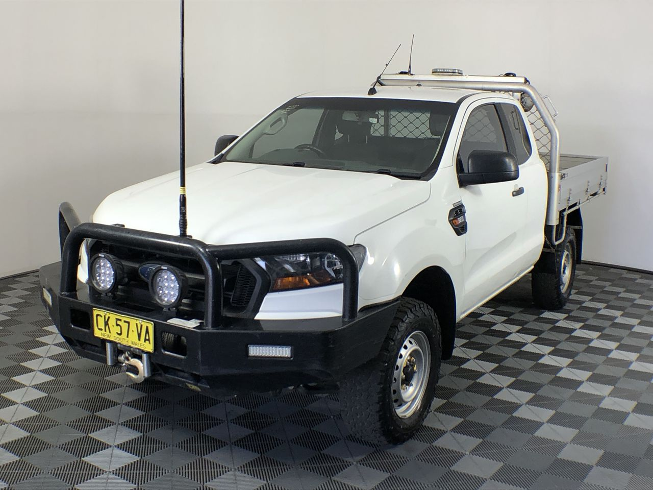 Ex-Gov 2016 Ford Ranger XL 4X4 PX II Turbo Diesel Manual Extra Cab