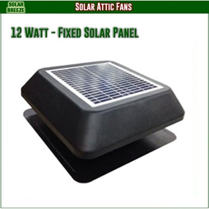 Unused Solar Breeze Roof Fan - 1212C