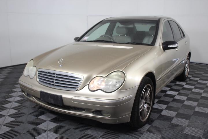 2002 Mercedes Benz C200 Kompressor Classic Automatic Sedan