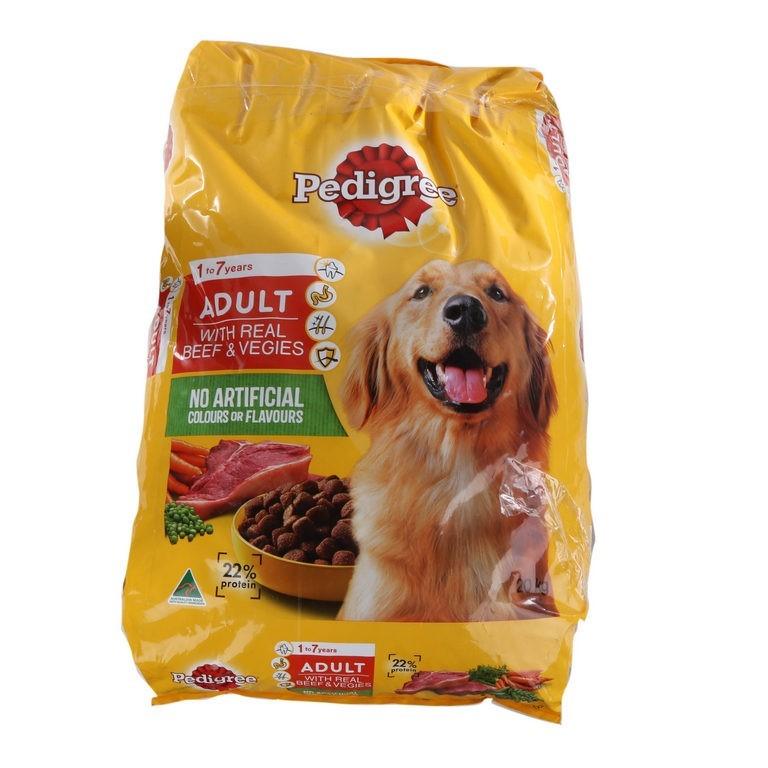 20kg x PEDIGREE Adult Dog Formula with Real Beef & Vegies. (SN:CC34429) (27