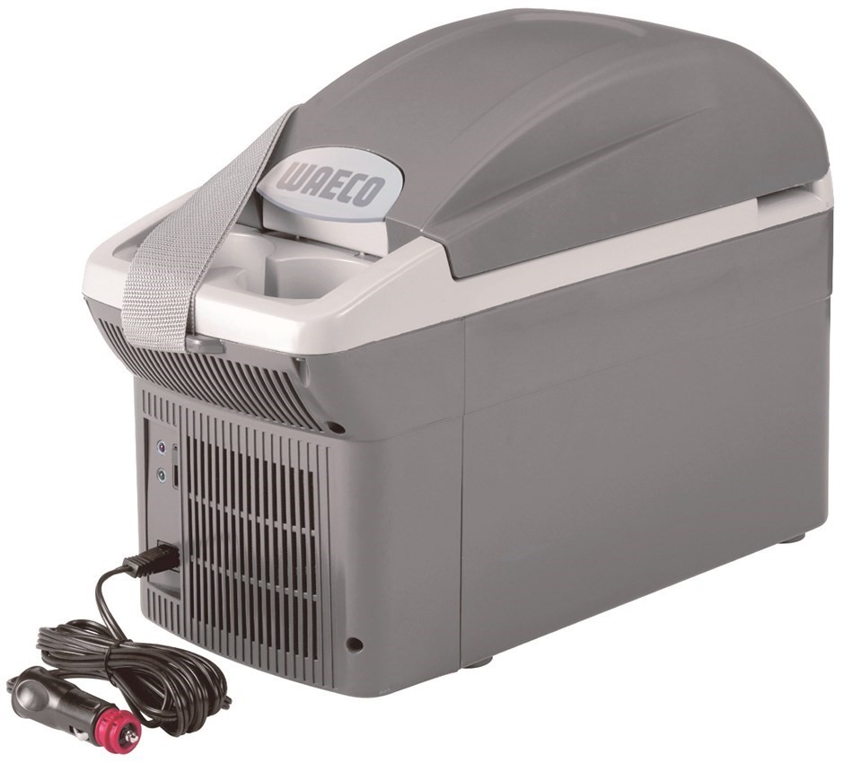 WAECO 8L Console Cooler, 12V DC, 442 x 200 x 298mm. Buyers Note - Discount