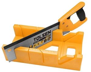 TOLSEN Mitre Box with Back Saw Set, 300m